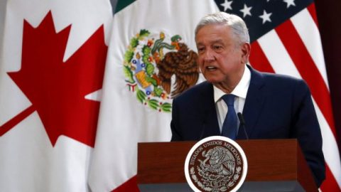 President of Mexico praises USMCA ahead of White House meeting