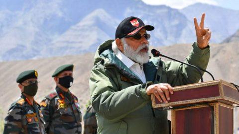 Indian Air Force patrols India-China border