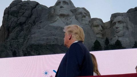 Trump Launches American Volley Against 'New Far-Left Fascism' In Independence Day Address