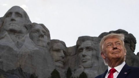 President Trump praises American history, condemns cancel culture during Mount Rushmore 4th of July event