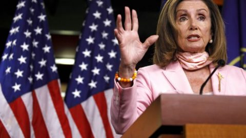 Pelosi under fire for shrugging off concerns about Columbus statues