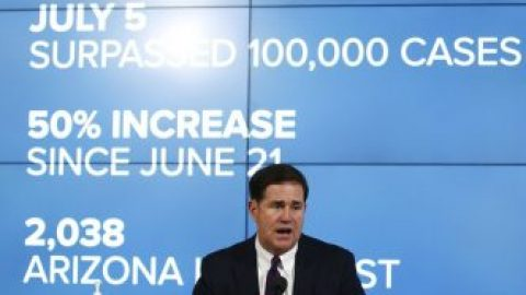 Ariz. Gov. Ducey outlines major increase in COVID testing efforts amid rise in cases
