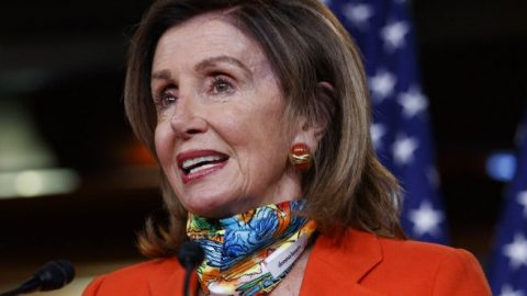 Pelosi says President Trump could be 'fumigated' from the White House