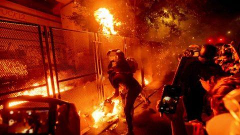 Justice Department arrests 18 Portland rioters