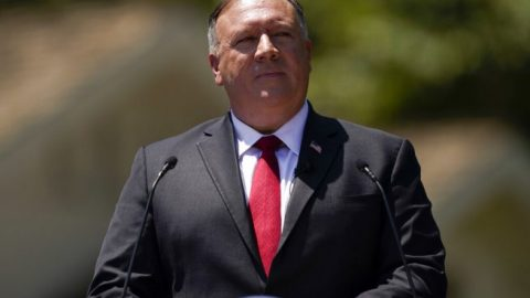 Secy. Pompeo: Mainland China biting 'int'l hand that feeds'