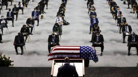 Memorial service held in honor of John Lewis