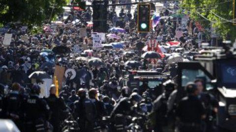 Overnight protests in Seattle, Portland, Austin turn violent
