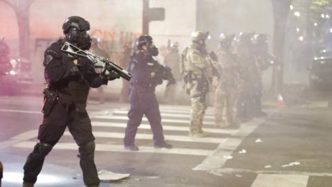 130 federal agents stay behind in Portland as 'quick reaction force'