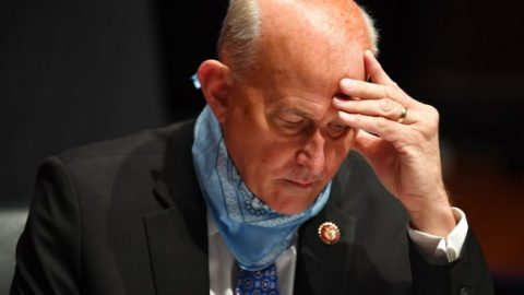 Rep. Louie Gohmert tests positive for COVID-19