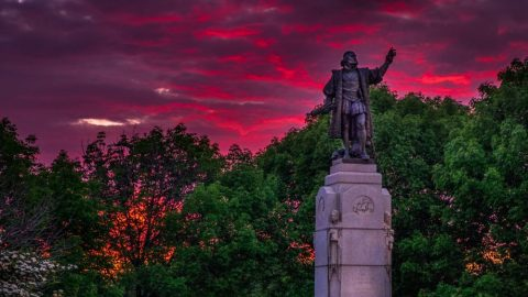 Chicago Mayor Orders Removal Of Columbus Statue Despite Crime Spree