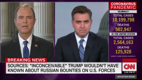 Schiff Learned Of Russian 'Bounty' Intelligence In February, Withheld Information From Congress, And Took No Action