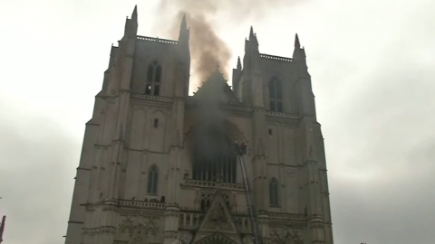 Apparent Arson Devastates 600-Year-Old Nantes Cathedral