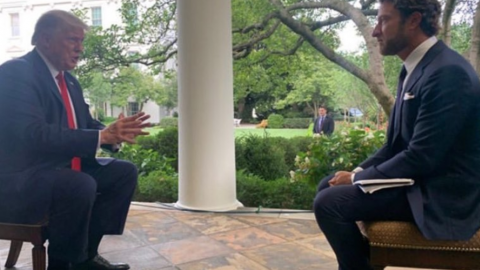 Barstool President Dave Portnoy And Trump Talk Sports, Kneeling, And Fauci In One-On-One Interview