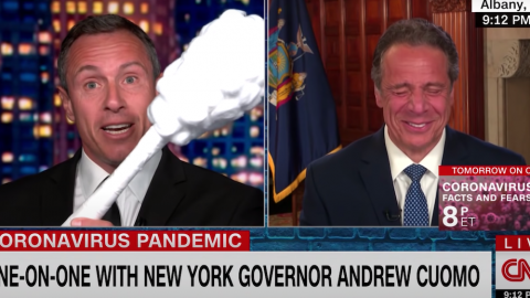 Fake News King Chris Cuomo Asks If We Can Trust GOP Governor