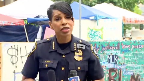 Seattle Police Chief Blasts CHOP: Two Men Are Dead, 'Enough Is Enough'
