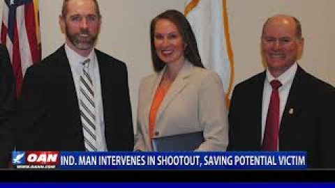 Ind. man intervenes in shootout, saving potential victim