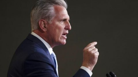 McCarthy calls on Democrats to hold China accountable