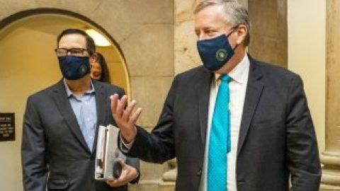GOP, Democrats report progress on relief package talks