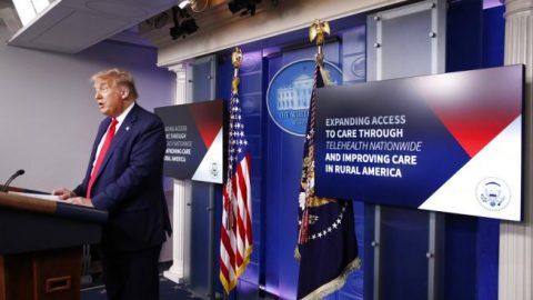 President Trump signs order expanding telehealth services