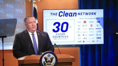 U.S. rolls out 'Clean Network' initiative against Chinese surveillance