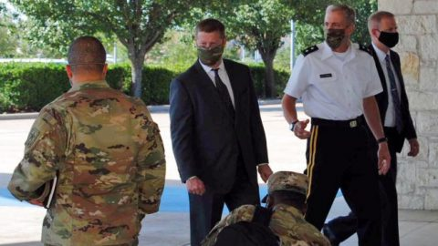 Secy. of the Army addresses Fort Hood incidents