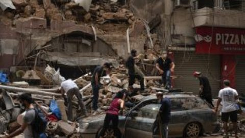 The world comes to the aid of Beirut