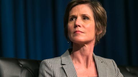 Sally Yates' Russiagate Testimony Reeks of Partisanship