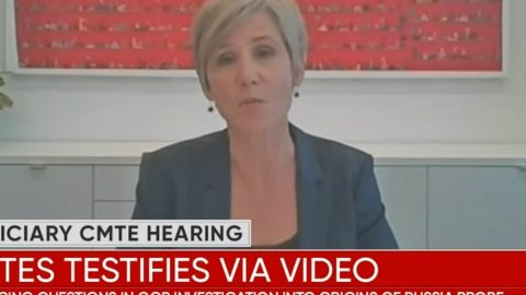 Sally Yates Showed She's Either Ignorant Or Lying About Russiagate
